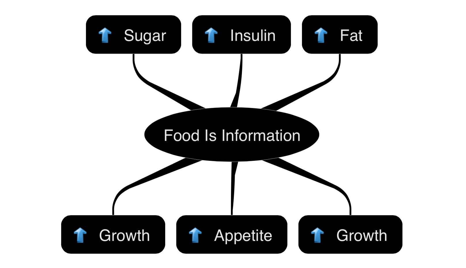 Food is Information Graphic